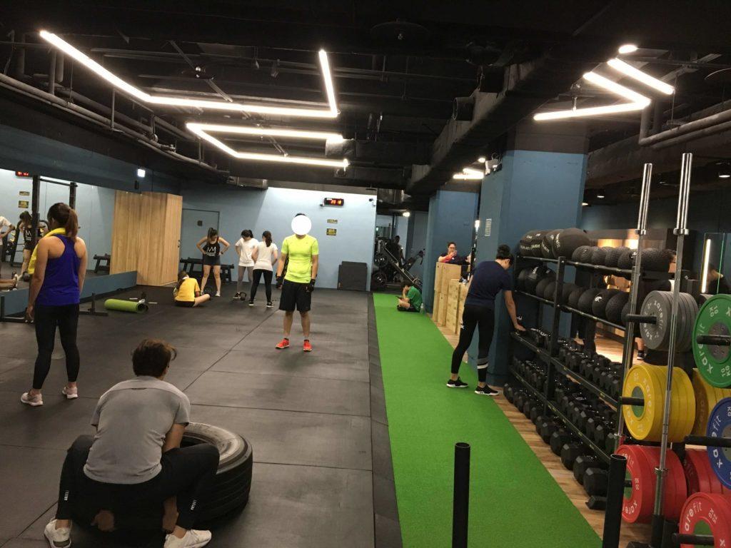 享健身多功能訓練區