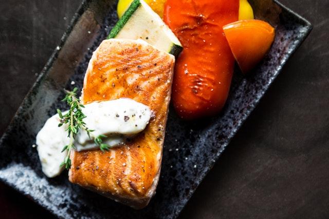 營養素-脂質-鮭魚