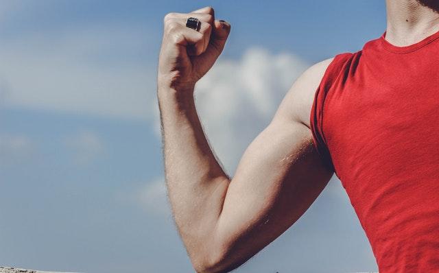 健腹輪效果-手臂