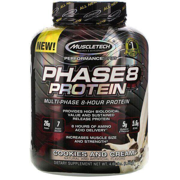 【Muscle Tech】Phase 8 乳清蛋白