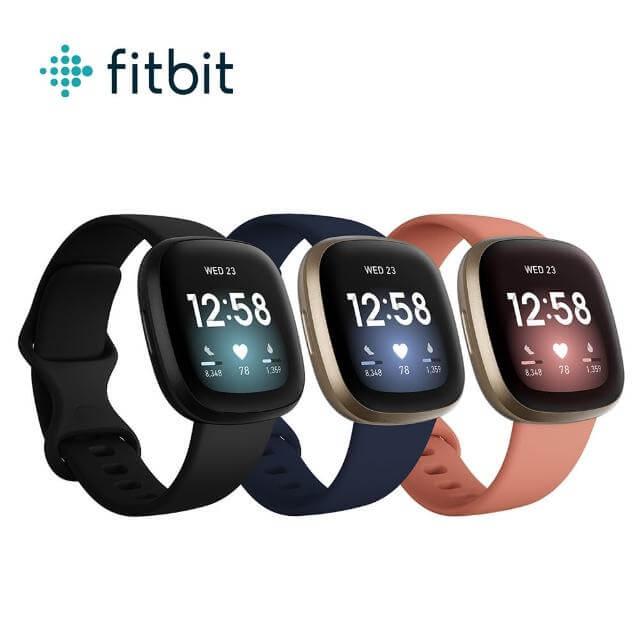運動手錶推薦:Fitbit Versa 3